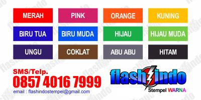 flashindo - warna stempel murah